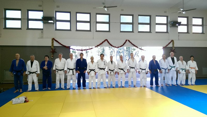 Training group on December 20, 2014